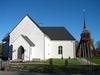 Asby kyrka och klockstapel
