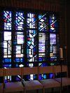 Glasmosaik i St Lars kapell