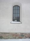Vist kyrka, fönster.