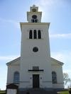 Å kyrka från väster.