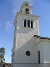 Å kyrka, tornet från söder.