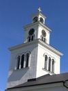 Å kyrka, tornlanternin från sydöst.
