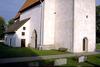 Martebo kyrka från nordväst