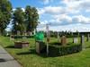 Kvarter C, redskapsstativet placerat nära gravplatsen.
