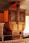 Den gamla orgeln från 1604. Sveriges äldsta spelbara orgel.