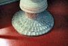 Dopfuntens fot, som är medeltida.