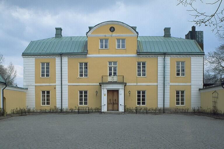 Trädgård Wapnö : Kringla vapnÖ slott