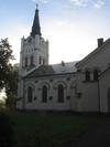 Västra Eds kyrka från norr.