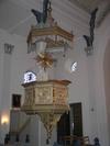 Västra Eds kyrka, predikstol.