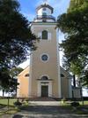 Mörlunda kyrka från öster.