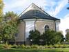 Mörlunda kyrka från väster.