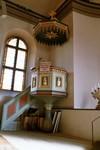 Predikstol i Hjo kyrka. Neg.nr. 03/241:20. JPG.