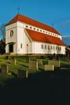 Exteriör av Stengårdshults kyrka, byggd 1912 efter ritningar av Torben Grut. Neg.nr. B963_053:11. JPG.