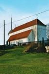 Exteriör av Stengårdshults kyrka, byggd 1912 efter ritningar av Torben Grut. Neg.nr. B963_053:14. JPG.