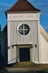 Västgavel på Stengårdshults kyrka. Neg.nr. B963_053:06. JPG.