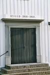 Västport på Stengårdshults kyrka. Neg.nr. B963_054:07. JPG.