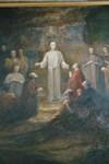 Altartavla av Gerda Höglund i Stengårdshults kyrka. Neg.nr. B963_055:09. JPG.