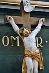Krucifix från Stengårdshults gamla kyrka. Neg.nr. B963_055:10. JPG.