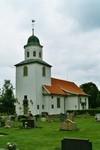 Exteriör av Gustaf Adolfs kyrka. Neg.nr. 04/169:02. JPG.