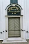 Västport på Gustaf Adolfs kyrka. Neg.nr. 04/169:04. JPG.