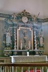 Altaruppsats i Gustaf Adolfs kyrka. Neg.nr. 04/168:06. JPG.