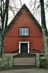Västgavel från 1871 på Norra Hestra kyrka. Neg.nr. B963_048:20. JPG.