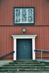 Entréport till Norra Hestra kyrka. Neg.nr. B963_048:19. JPG.