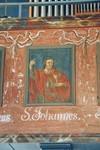 Läktarbröst i Norra Hestra kyrka. Neg.nr. B963_046:24. JPG.