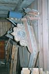 Ljudtak förvarat i uthus vid gamla folkskolan i Norra Hestra. Neg.nr. B963_047:17. JPG.