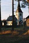 Valdshults kyrka, uppförd 1904-05 efter ritningar av Fritz Eckert. Neg.nr. B963_051:19. JPG.