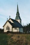 Valdshults kyrka, uppförd 1904-05 efter ritningar av Fritz Eckert. Neg.nr. B963_051:07. JPG.