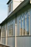 Långsida på Valdshults kyrka. Neg.nr. B963_051:03. JPG.