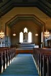 Interiör av Valdshults kyrka. Neg.nr. B963_053:24. JPG.