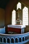 Altarpartiet i Valdshults kyrka. Neg.nr. B963_052:14. JPG.