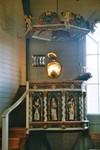 Predikstol från Valdshults gamla kyrka, snidad av Jonas Ullberg 1718. Neg.nr. B963_052:13. JPG.