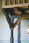 Läktarpelare i Valdshults kyrka. Neg.nr. B963_052:07. JPG.