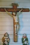 Träskulptur från Valdshults gamla kyrka. Neg.nr. B963_052:10. JPG.