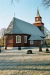 Exteriör av Mulseryds kyrka. Neg.nr. B963_058:11. JPG.
