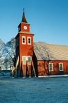 Exteriör av Mulseryds kyrka. Neg.nr. B963_058:24. JPG.