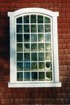 Långhusfönster från 1893 på Mulseryds kyrka. Neg.nr. B963_058:14. JPG.
