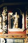 Detalj från predikstol av Gustaf Kihlman i Mulseryds kyrka. Neg.nr. B963_058:01. JPG.