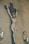 Krucifix från altaruppsats av Jonas Ullberg i Mulseryds kyrka. Neg.nr. B963_059:16. JPG.