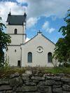 Kälsstad kyrka från söder.