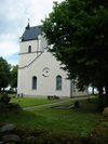 Källstad kyrka från sydöst.
