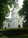 Källstad kyrka från nordväst.