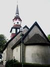 Björkebergs kyrka från sydöst.