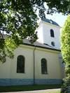 Sankt Anna nya kyrka från norr.