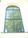 Sankt Anna nya kyrka, långhusfönster.
