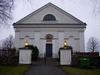 Västra Husby kyrka från öster.