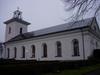 Västra Husby kyrka från söder.